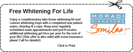 Free Whitening for Life Coupon