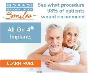 All on 4 Dental Implants Procedures at Moradi Signature Smiles in Campbell CA